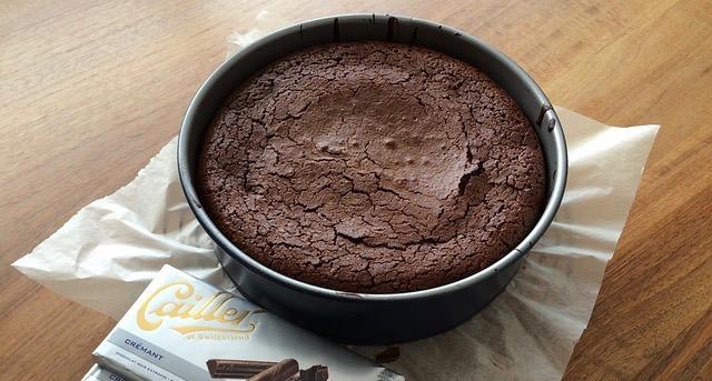 gateau au chocolat au cannabis space cake